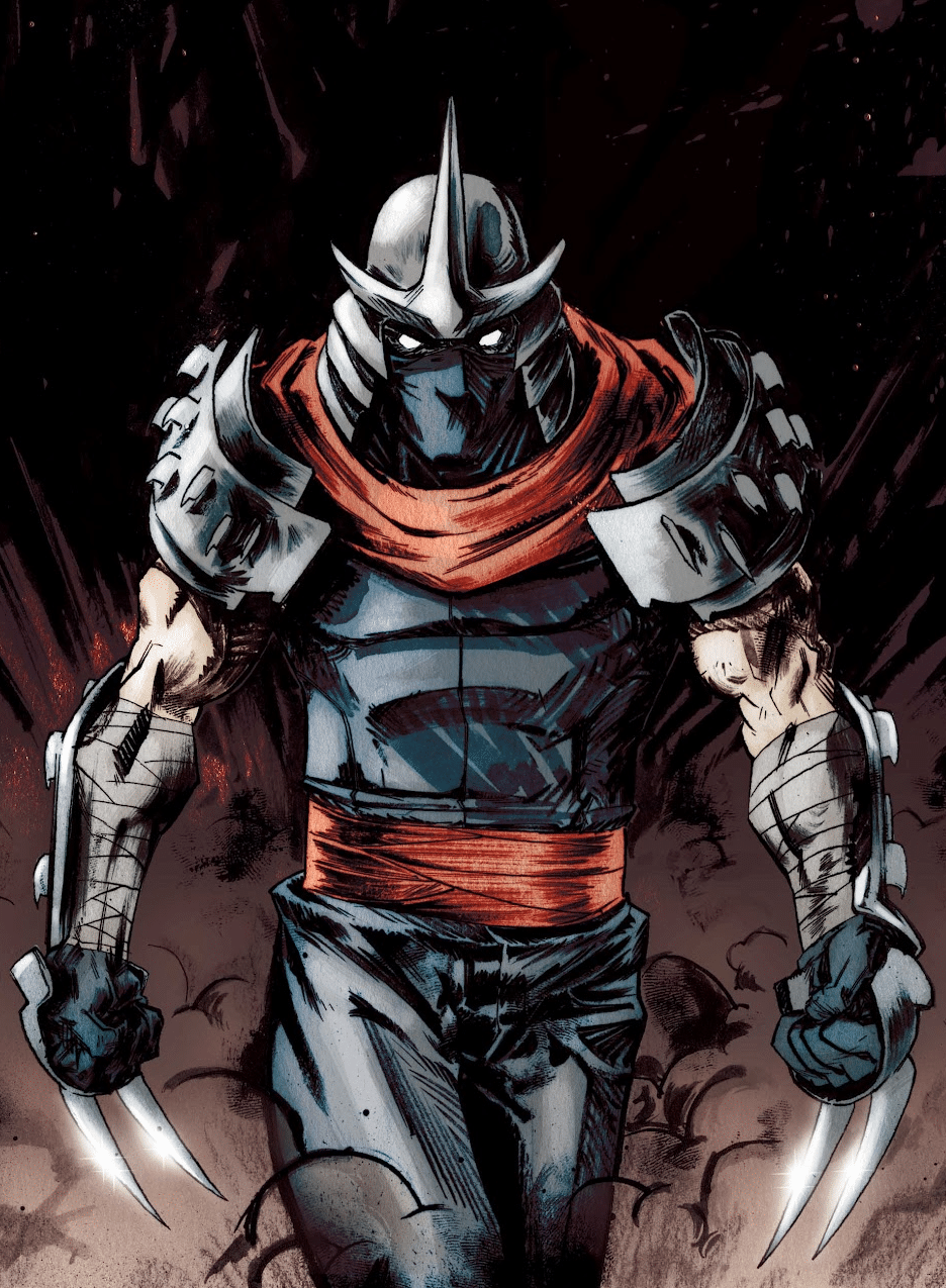 best ninja turtle villain shredder